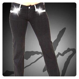 A7 Tiffany Jeans with White SWAROVSKI ELEMENTS, 24
